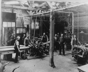 Fabrik Berliner Deutsche Grammophon Hannover